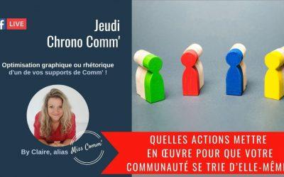 Quelles actions mettre en œuvre pour que votre communauté se trie d'elle-même - Miss Comm', formation professionnelle Datadockée en Marketing et communication