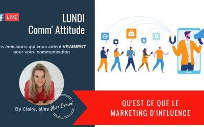 Qu'est ce que le marketing d'influence - MissComm - formation marketing, communication pour TPE PME indépendants