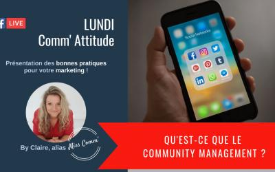 Qu'est)-ce que le community managment, Claire Négrier, formation social media Datadockée