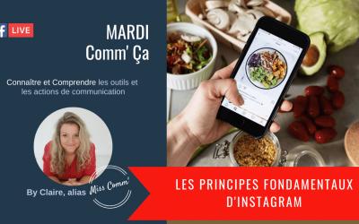 Les principes fondamentaux d'Instagram - Claire Négrier, formation social média