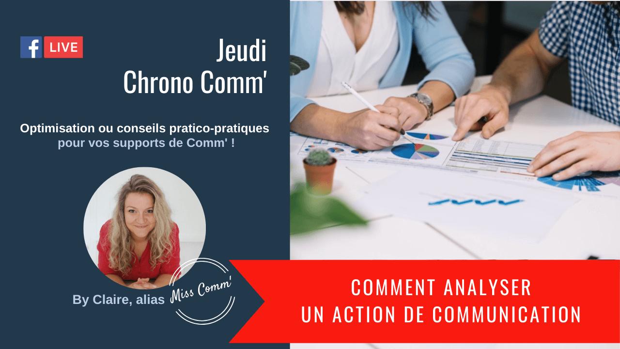Comment analyser une action de communication ? Miss Comm' stratégie et formation de communication
