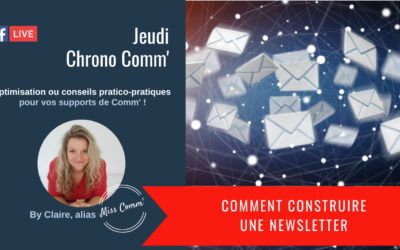 Comment construire une Newsletter - Claire Négrier, stratégie et supports de communication pour TPE PME